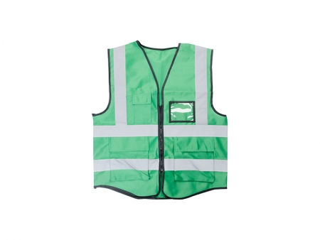 Sublimation Swallowtail Reflective Vest (Green)