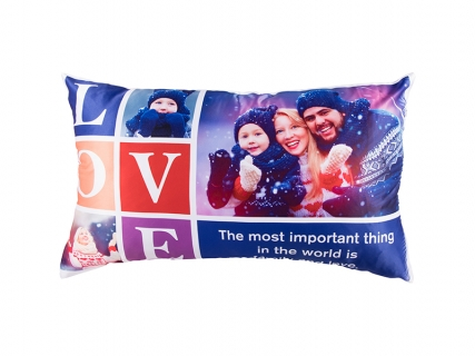 Sublimation Pillow Cover (Peach Skin, 45*75cm)