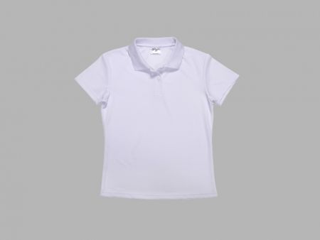 Sublimation Polo Women's T-shirt (Mesh Interior)