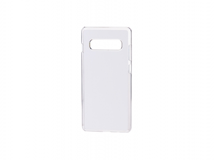 Samsung S10 Plus Cover (Plastic, Clear)