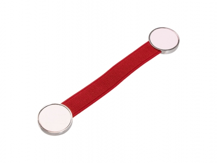 Elastic Band Strap Phone Holder (Red)
