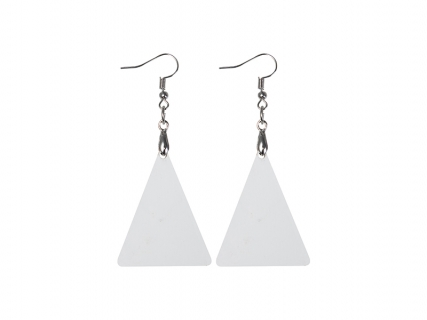 Sublimation Hardboard Earring (Triangle)