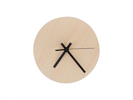 Sublimation Plywood Clock(20φ)