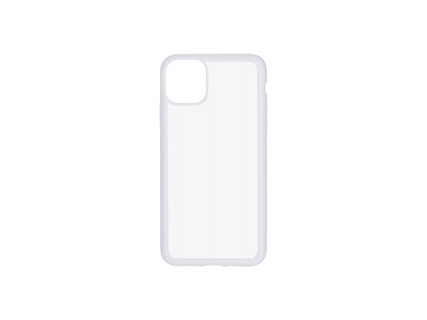 iPhone 11 Pro Max Cover (Rubber, White)