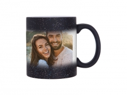 11oz Color Changing Mugs (StarSky Black, Frosted)