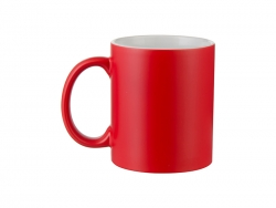 11oz Color Changing Mugs (Semi-Glossy, Red)