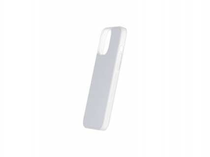 iPhone 12 Pro Max Cover (Rubber, Clear)