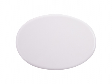 Sublimation 6 in. x 4.3 in. Oval Tile