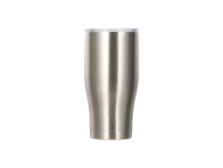 Sublimation 28OZ/850ml Stainless Steel Tumbler (Silver)