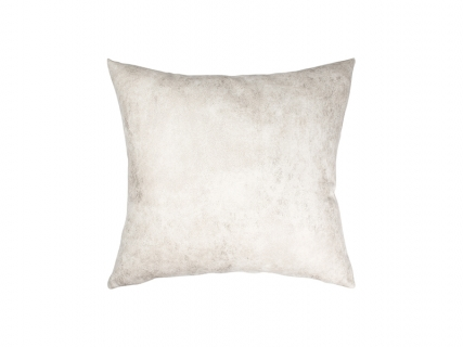 Leathaire Pillow Cover (Gray White, 40*40cm)