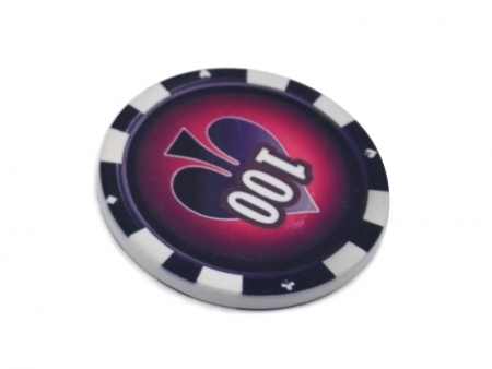 Sublimation 39mm Poker Chip