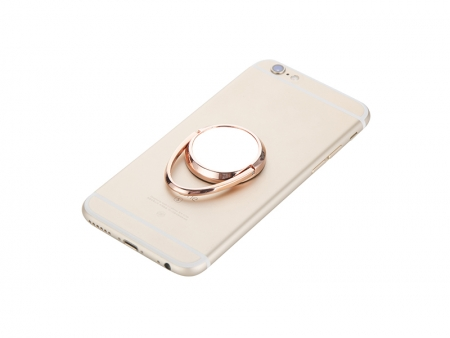 Rotating Mobile Phone Ring Holder(Rose Gold)