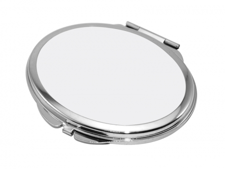 Sublimation Oval Shaped Compact Mirror(6.3*7.2cm)