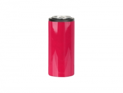 12oz/350ml Stainless Steel Skinny Can Cooler(Red)