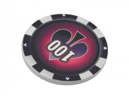 Sublimation 43mm Poker Chip