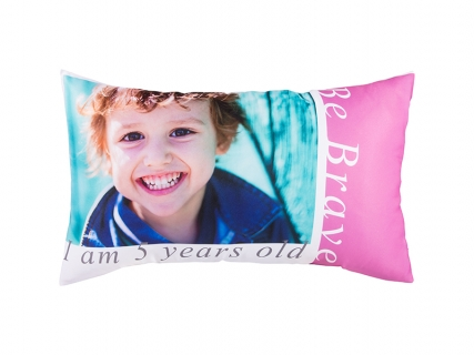 Sublimation Pillow Cover (Polyester, 45*75cm)