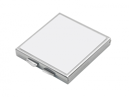 Sublimation Square Shaped Compact Mirror(5.5*5.5cm)