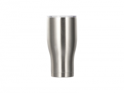 Sublimation 32OZ/950ml Stainless Steel Tumbler (Silver)