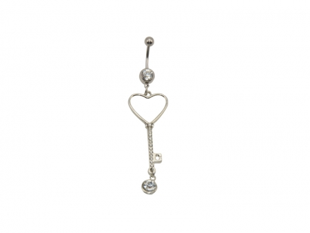Sublimation Belly Button Ring(Heart)