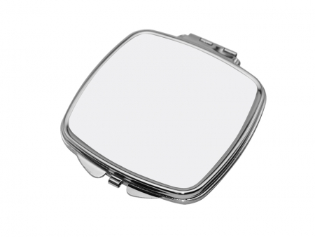 Sublimation Square Shaped Compact Mirror(6.6*7.35cm)