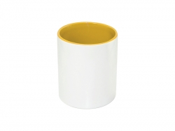 Sublimation 11oz Pencil Holder (Yellow)
