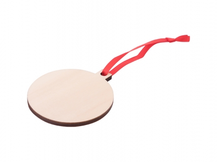 Sublimation Plywood Christmas Ornament (Ball)